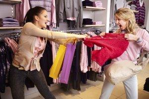zombie V - shopping