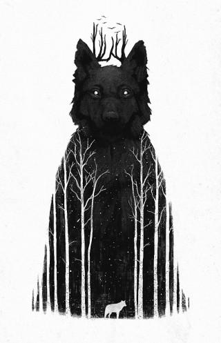 Wolf Cry II_by Dan Burgess